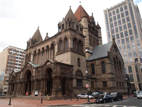 richardson architect boston massachusetts church view