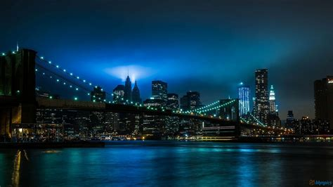 Rainbow Wall Murals new york at night wallpaper wallpapersafari
