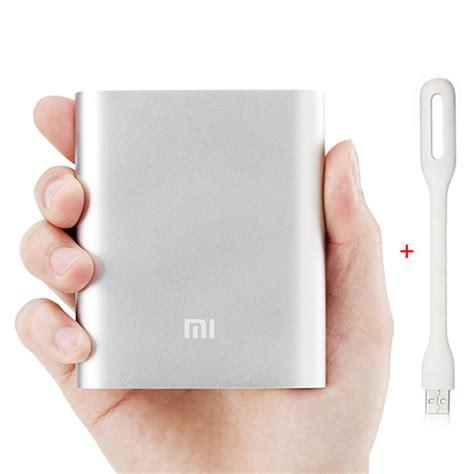 Xiaomimi Power Bank 10400mah Bulk Packing Not Xiaomi Vivan Robot xiaomi 10400mah usb power bank xiaomi usb led l light