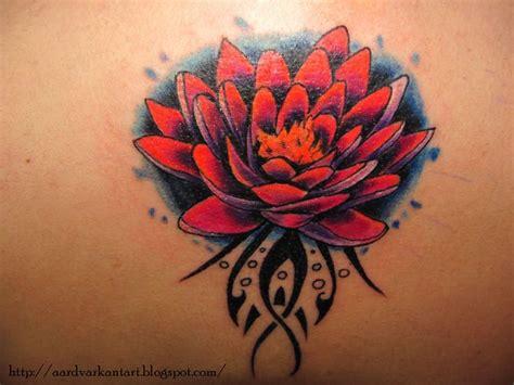 Lotus Flower Tribal Tribal Lotus Flower Tattoos