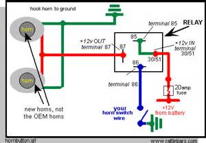 wiring diagram for air horns 12 volt replacement wiring free engine image for user manual