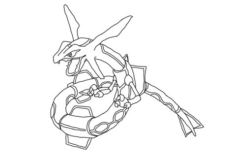 pokemon rayquaza coloring pages az coloring pages