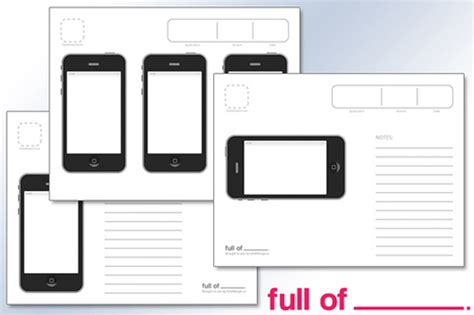 iphone apps templates free wireframing kits ui design kits pdfs and resources
