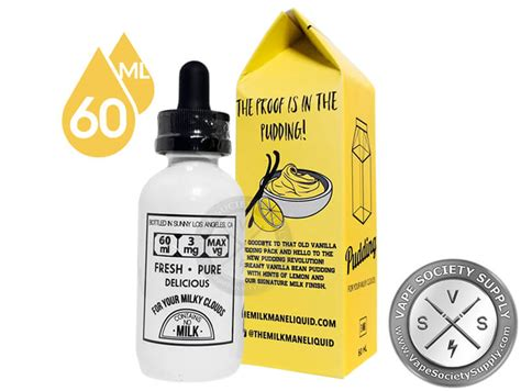 Ladas E Liquid The Clasical Vanilla Nic 3mg 30 Mil pudding ejuice by the milkman 60ml