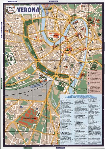 Hotel Italia Verona Italy Europe verona tourist map venice florence tourist