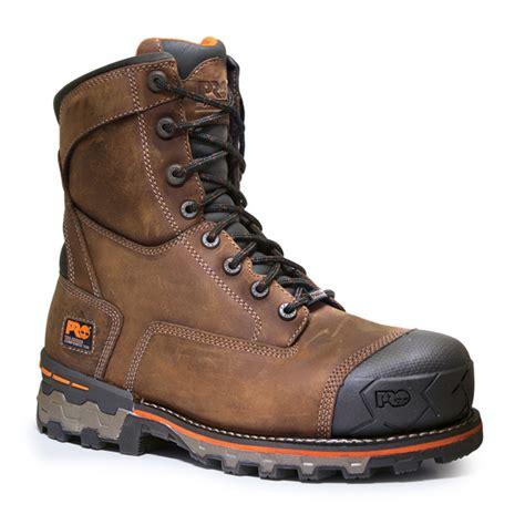 non slip work boots timberland pro boondock 8 inch nonslip composite toe work