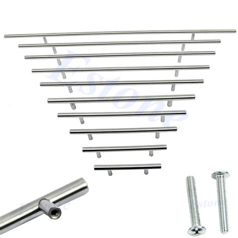 what size bar pulls for kitchen cabinets 10 sizes solid stainless steel bar pull cabinet