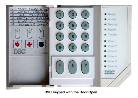 dsc alarm keypad user manual free programs