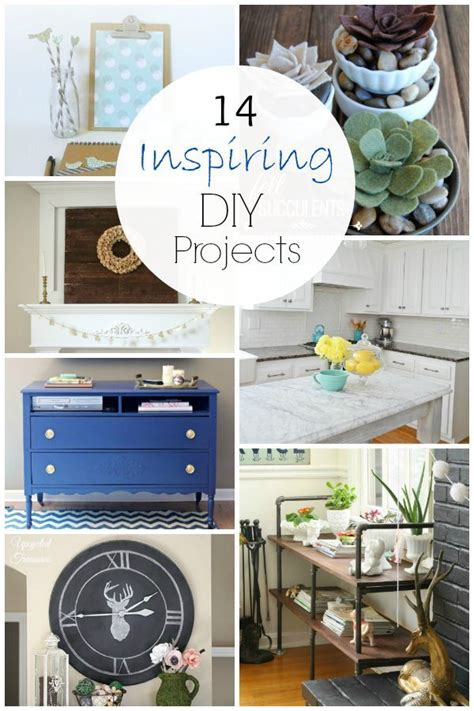 14 diy projects to try this weekend taryn whiteaker 14 inspiring diy projects link party features taryn