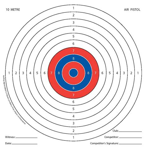 a3 printable shooting targets 100 x air rifle shooting targets airsoft pistol gun 14cm