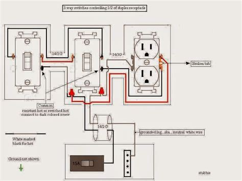 3 way switch wiring diagram variations e how 3 way light