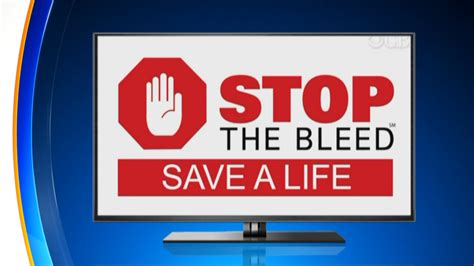 the stop stop the bleed caign could save lives 171 cbs denver