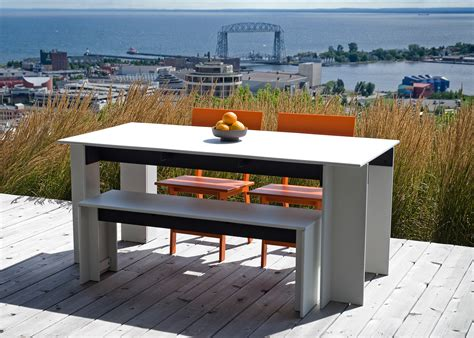 65 inch dining table dining table 65 inch loll designs recycled