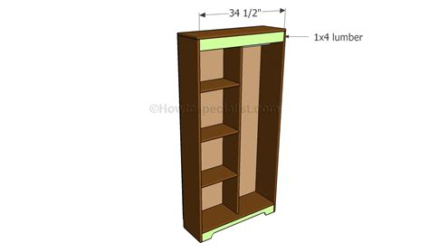 building an armoire how to build an armoire wardrobe howtospecialist how