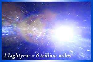 Miles In A Light Year Mysterious Universe Light Year