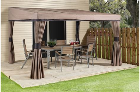 gazebo wall palm wall mounted gazebos collections sojag