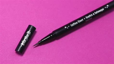 kat von d tattoo liner tutorial review kat von d tattoo liner in trooper nikkietutorials