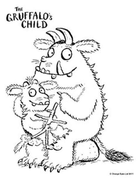 New Age Mama Kidtoons The Gruffalo S Child Bogo Free Gruffalo Colouring Pages To Print