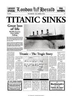 London anniversaries and titanic sinking on pinterest