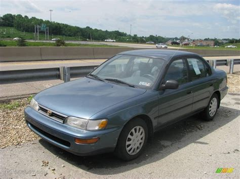 1995 Toyota Corolla Dx 1995 Wintergreen Metallic Toyota Corolla Dx Sedan