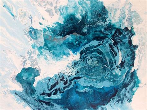 acrylic paint do you add water the abstract and abstract on