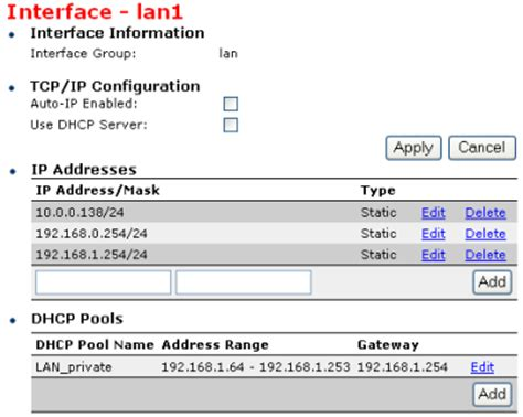 ip address sections speedtouch 608wl lan ip address configuration 608wl