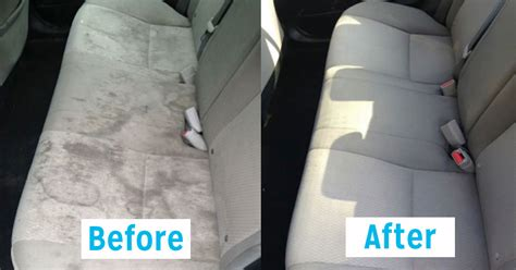 car upholstery washer 13 genius car cleaning hacks