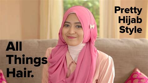 tutorial hijab segi empat natasha farani tutorial gaya hijab cantik by natasha farani youtube