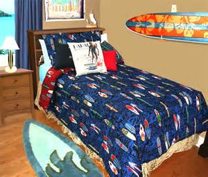 surf bedding blue surf bedding xl comforter
