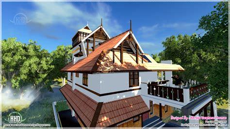 kerala traditional home   square feet kerala home
