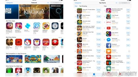 app store app for android android vs ios