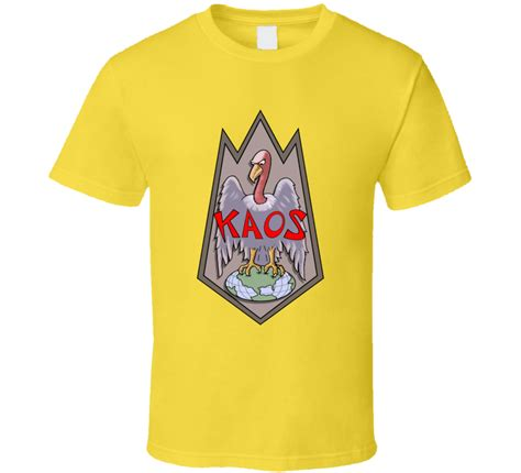 Kaos Last Tribute Nmacb get smart kaos logo villans retro tv series don 86 maxwell smart t shirt