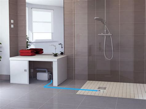Pompa Air Mini Shower sanifloor from only 163 399 incl vat free nationwide delivery