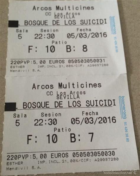 precio de las entradas al cine el bosque de los suicidios cine japon 233 s de t comprar