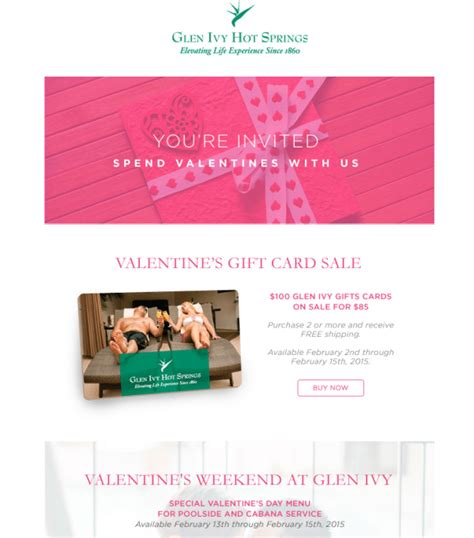 Glen Ivy Gift Card - glen ivy corona deals temecula qponer blogs