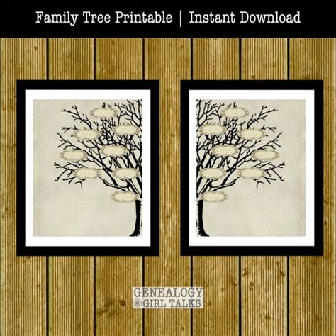printable family tree program 323 best images about genealogy family history on pinterest