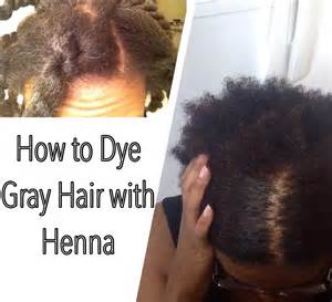 coloring gray american hair with henna how to dye gray hair with henna youtube