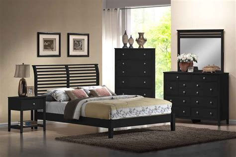bedroom ideas  black furniture house decorating ideas