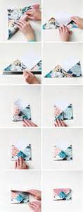 How To Make An Envelope Origami - diy origami envelopes gathering