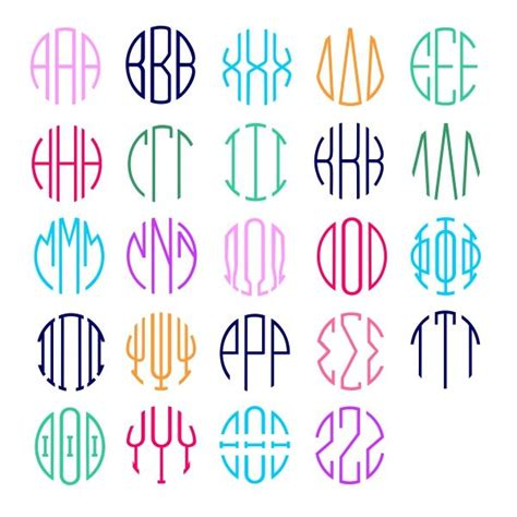 font design pdf greek circle round font cuttable design cut file vector