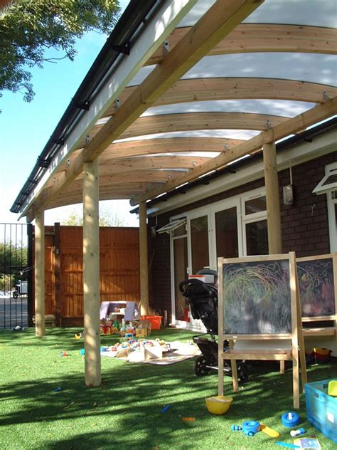 perspex awnings timber and perspex canopies setter shelters uk
