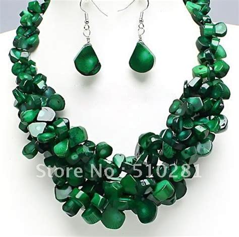 pop it jewelry chunky necklace set costume jewelry promotion