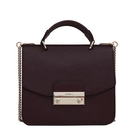Furla Top furla saffiano leather small top handle crossbody bag