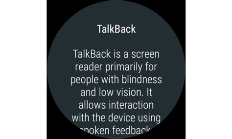 what is talkback on android talkback android apps on play