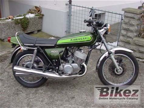 kawasaki mach 3 500 for sale 1973 kawasaki 500 h 1 mach iii specifications and pictures