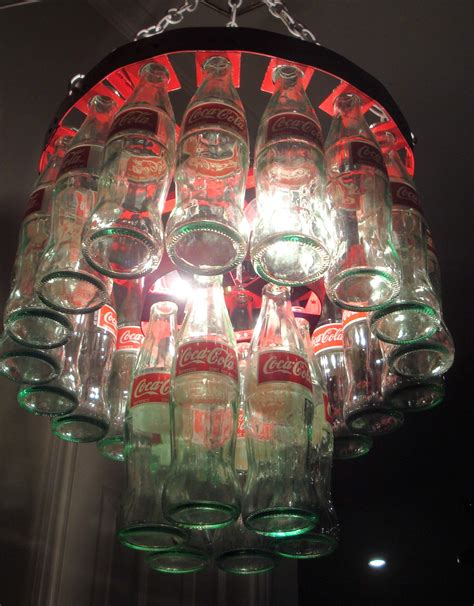 Coke Bottle Chandelier Coke Bottle Chandelier Coke Photo 32701442 Fanpop