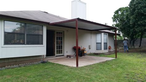 Nw Awning by Attached Porch Awning Northwest San Antonio Carport