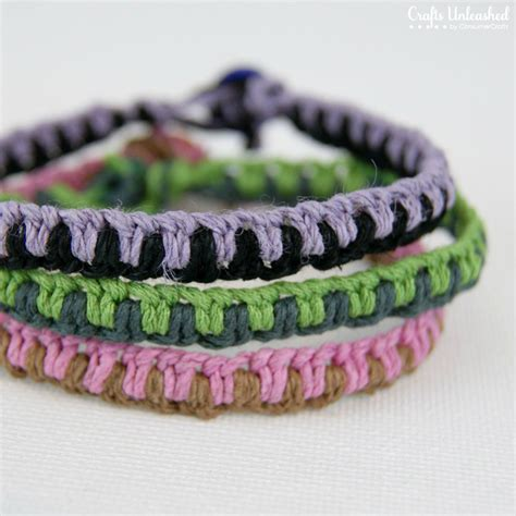 Easy Macrame Bracelet Patterns - friendship bracelets easy diy macrame tutorial