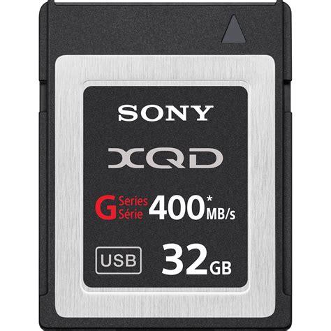 Sd Card V 32gb Hyper Series sony 32gb g series xqd format version 2 memory card qdg32a j b h