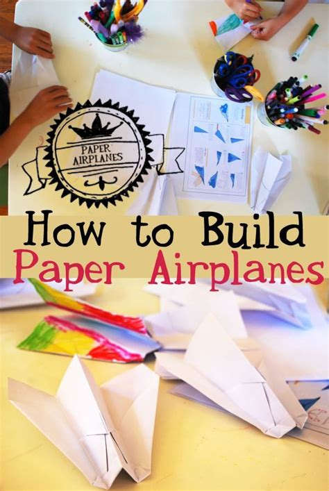How To Make A Paper Airplane Go Far - 25 unique make a paper airplane ideas on